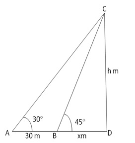 RS Aggarwal Solutions Class 10 Chapter 14 Height and Distance 14 20.1