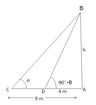 RS Aggarwal Solutions Class 10 Chapter 14 Height and Distance 14 23.1