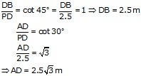 RS Aggarwal Solutions Class 10 Chapter 14 Height and Distance 14 26.2