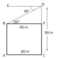 RS Aggarwal Solutions Class 10 Chapter 14 Height and Distance 14 28.1