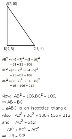 RS Aggarwal Solutions Class 10 Chapter 16 Co-ordinate Geometry 16a 16.1