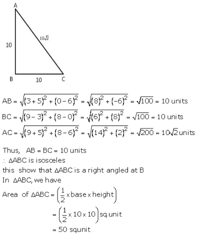 RS Aggarwal Solutions Class 10 Chapter 16 Co-ordinate Geometry 16a 17.1