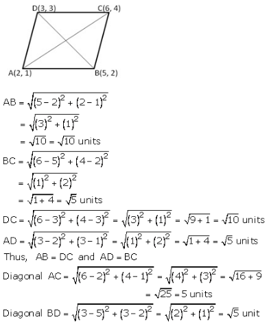 RS Aggarwal Solutions Class 10 Chapter 16 Co-ordinate Geometry 16a 19.1