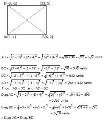 RS Aggarwal Solutions Class 10 Chapter 16 Co-ordinate Geometry 16a 20.1