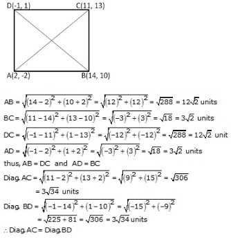 RS Aggarwal Solutions Class 10 Chapter 16 Co-ordinate Geometry 16a 20.2