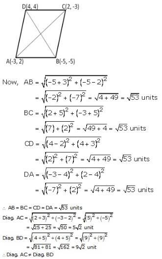 RS Aggarwal Solutions Class 10 Chapter 16 Co-ordinate Geometry 16a 22.1