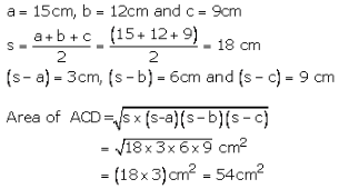 RS Aggarwal Solutions Class 10 Chapter 17 Perimeter and Areas of Plane Figures 17b 27.3