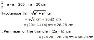 RS Aggarwal Solutions Class 10 Chapter 17 Perimeter and Areas of Plane Figures 9a 18.1