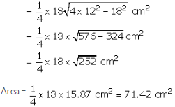 RS Aggarwal Solutions Class 10 Chapter 17 Perimeter and Areas of Plane Figures 9a 20.3