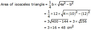RS Aggarwal Solutions Class 10 Chapter 17 Perimeter and Areas of Plane Figures 9a 21.3
