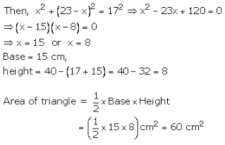 RS Aggarwal Solutions Class 10 Chapter 17 Perimeter and Areas of Plane Figures 9a 7.1