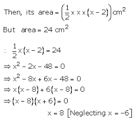 RS Aggarwal Solutions Class 10 Chapter 17 Perimeter and Areas of Plane Figures 9a 9.1