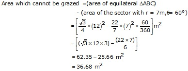 RS Aggarwal Solutions Class 10 Chapter 18 Areas of Circle, Sector and Segment 9a 31.2