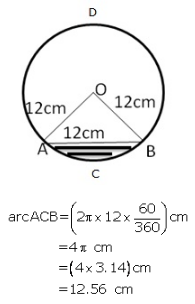 RS Aggarwal Solutions Class 10 Chapter 18 Areas of Circle, Sector and Segment 9a 70.1