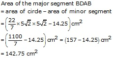 RS Aggarwal Solutions Class 10 Chapter 18 Areas of Circle, Sector and Segment 9a 72.3