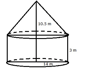 RS Aggarwal Solutions Class 10 Chapter 19 Volume and Surface Areas of Solids 9a 1.1