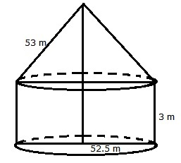 RS Aggarwal Solutions Class 10 Chapter 19 Volume and Surface Areas of Solids 9a 2.1