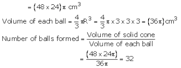 RS Aggarwal Solutions Class 10 Chapter 19 Volume and Surface Areas of Solids 9b 1.1