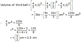 RS Aggarwal Solutions Class 10 Chapter 19 Volume and Surface Areas of Solids 9b 6.1