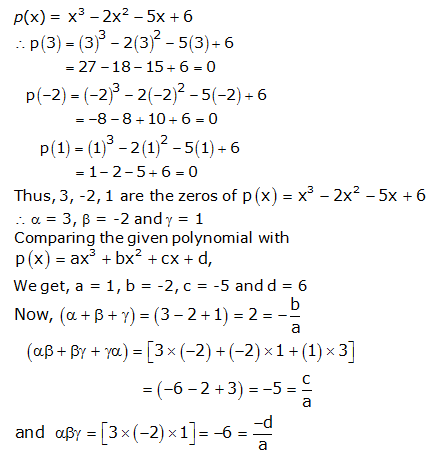 RS Aggarwal Solutions Class 10 Chapter 2 Polynomials 2b 1.1