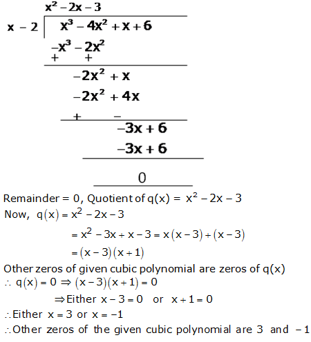 RS Aggarwal Solutions Class 10 Chapter 2 Polynomials 2b 10.2