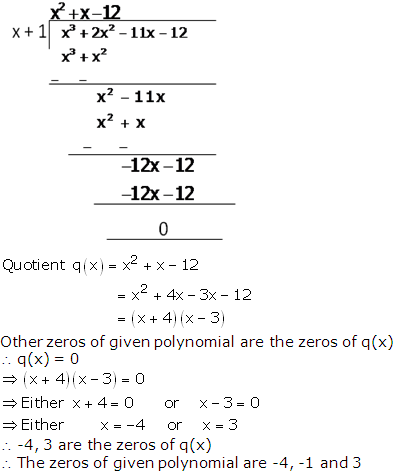 RS Aggarwal Solutions Class 10 Chapter 2 Polynomials 2b 11.2