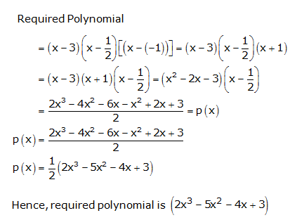 RS Aggarwal Solutions Class 10 Chapter 2 Polynomials 2b 4.1
