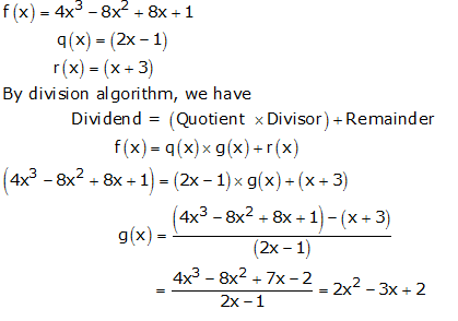 RS Aggarwal Solutions Class 10 Chapter 2 Polynomials 2b 5.1