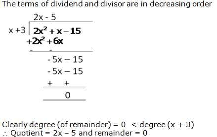 RS Aggarwal Solutions Class 10 Chapter 2 Polynomials 2b 6.1