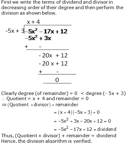RS Aggarwal Solutions Class 10 Chapter 2 Polynomials 2b 7.1