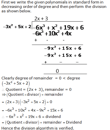 RS Aggarwal Solutions Class 10 Chapter 2 Polynomials 2b 9.1
