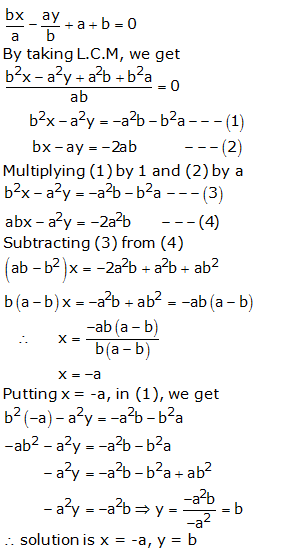 RS Aggarwal Solutions Class 10 Chapter 3 Linear equations in two variables 3b 20.1