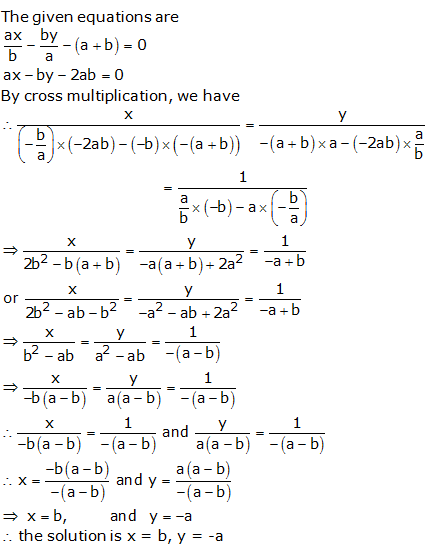 RS Aggarwal Solutions Class 10 Chapter 3 Linear equations in two variables 3c 16.1