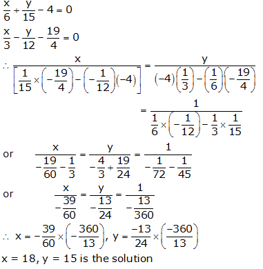 RS Aggarwal Solutions Class 10 Chapter 3 Linear equations in two variables 3c 8.1