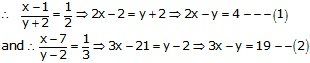 RS Aggarwal Solutions Class 10 Chapter 3 Linear equations in two variables 3e 22.1