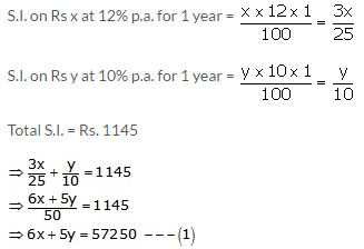 RS Aggarwal Solutions Class 10 Chapter 3 Linear equations in two variables Q36.1