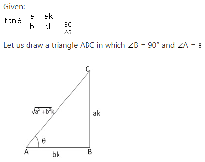 RS Aggarwal Solutions Class 10 Chapter 5 Trigonometric Ratios 19.1