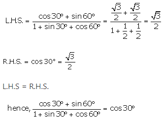 RS Aggarwal Solutions Class 10 Chapter 6 T-Ratios of Some Particular Angles 10.2
