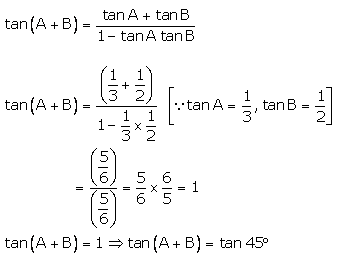 RS Aggarwal Solutions Class 10 Chapter 6 T-Ratios of Some Particular Angles 16.1