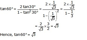 RS Aggarwal Solutions Class 10 Chapter 6 T-Ratios of Some Particular Angles 17.1