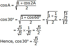 RS Aggarwal Solutions Class 10 Chapter 6 T-Ratios of Some Particular Angles 18.1