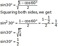 RS Aggarwal Solutions Class 10 Chapter 6 T-Ratios of Some Particular Angles 19.1