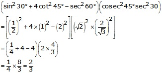 RS Aggarwal Solutions Class 10 Chapter 6 T-Ratios of Some Particular Angles 8.1