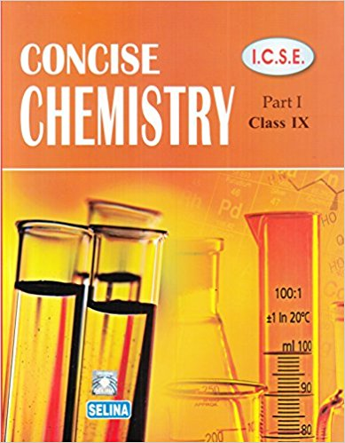 Selina Concise Chemistry Class 9 ICSE Solutions 2019-20 PDF