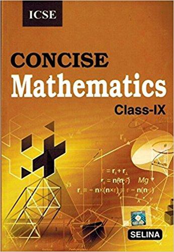 Selina Concise Mathematics Class 9 ICSE Solutions 2019-20