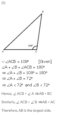 Selina Concise Mathematics Class 9 ICSE Solutions Inequalities 27a