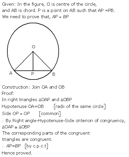 Selina Concise Mathematics Class 9 ICSE Solutions Triangles [Congruency in Triangles] 5a