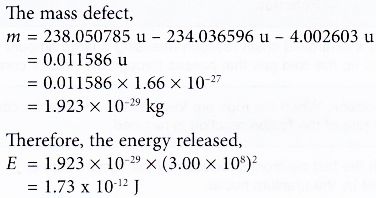 Energy Released in an Alpha Decay 2