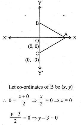 ML Aggarwal Class 10 Solutions for ICSE Maths Chapter 11 Section Formula Chapter Test Q1.1
