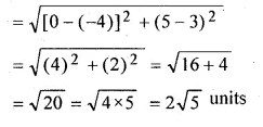 ML Aggarwal Class 10 Solutions for ICSE Maths Chapter 11 Section Formula Chapter Test Q2.2